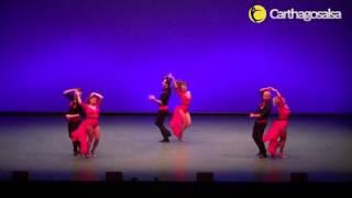 Alumnos de Charlie y Vero en Carthagosalsa 2014 - Show Domingo