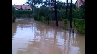 preview picture of video 'Powódź Falista Czechowice-Dziedzice  24,06,2013'