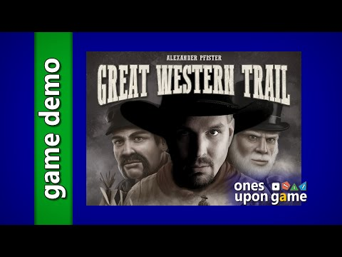 "Great Western Trail - ""Garth"" Automa Gameplay Brief by Ones Upon a Game"