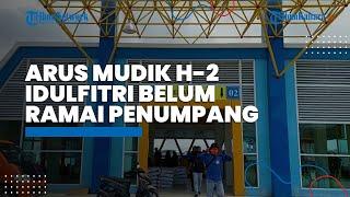 Arus Mudik H-2 Idulfitri, Belum Ada Lonjakan Penumpang, Pelabuhan Tengkayu Satu Terpantau Kondusif