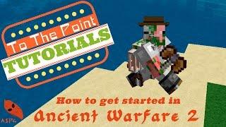 Minecraft: Animated Water Wheels [Ancient Warfare Mod