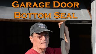 How To replace the bottom seal on your garage door