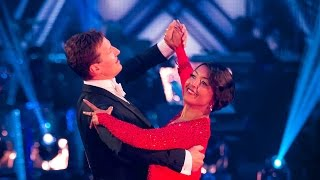Sunetra Sarker American Smooths to 'The Way You Look Tonight' - Strictly Come Dancing: 2014 - BBC