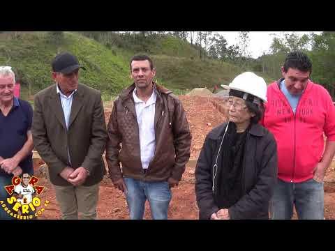 Prefeito Ayres Scorsatto junto com o Vereadores apresenta a construção do Galpão dos Agricultores de Juquitiba