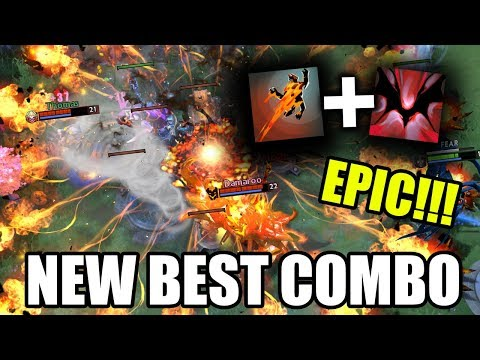 NEW BEST COMBO IN DOTA! SNAPFIRE AGHANIM'S SCEPTER WITH SHADOW FIEND Crazy Gameplay 7.25 Dota 2