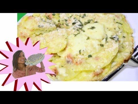 Tortino di Patate e Salmone - Le Ricette di Alice