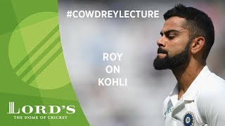 Jason Roy on Jacques Kallis & Virat Kohli   2018 MCC Spirit of Cricket Cowdrey Lecture