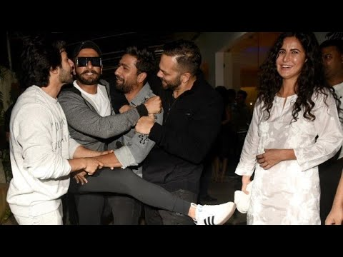 Katrina, Ranveer, Varun Dhawan Together Watch URI