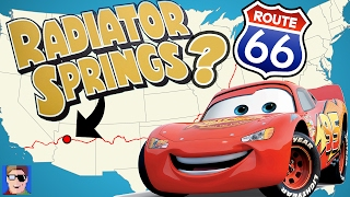 Is Radiator Springs A Real Town?