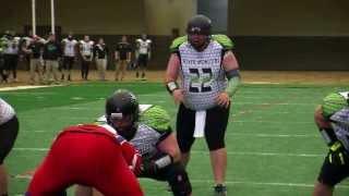 NKY River Monsters 36 vs. Bluegrass Warhorses 20 - CIFL Week One 2014 (Highlights)