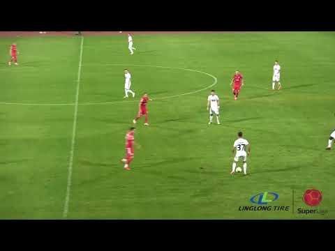 FK Radnicki Nis 1-0 FK Partizan Belgrad
