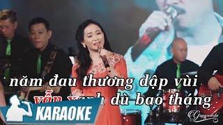 Karaoke Qua Cơn Mê (Tone Nữ) - Quý Lễ | Nhạc Vàng Bolero Karaoke
