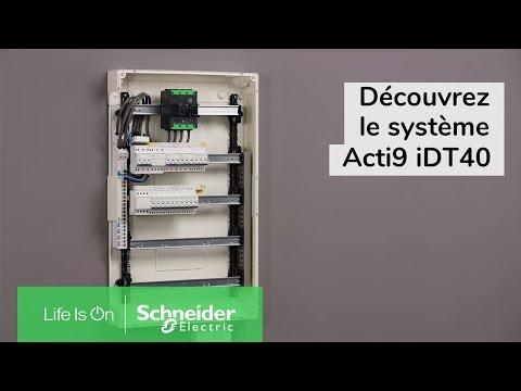 Acti9 iDD40K - disjoncteur différentiel - 1P+N C 10A 4500A/4,5A 300mA type AC