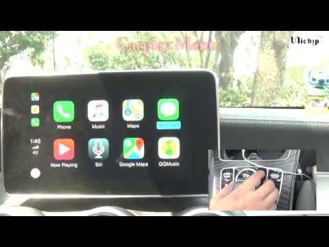 Apple CarPlay Retrofit on 2015 Mercedes CLS 250d - NTG5 COMAND