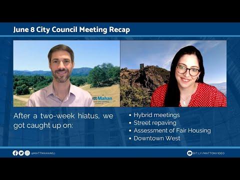June 8 San Jose City Council Meeting Recap