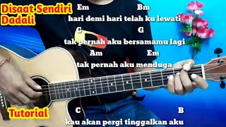Kunci Gitar Dadali Disaat Sendiri - Tutorial Gitar Mudah By Darmawan Gitar