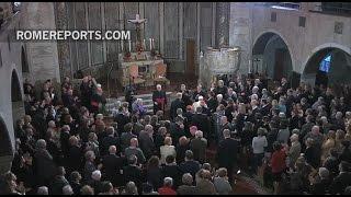Pausbezoek Zweden in teken oecumene