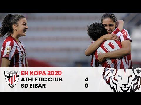 RESUMEN EH Kopa Fem (semif.) I Athletic Club 4 – SD Eibar 0 I LABURPENA EMA