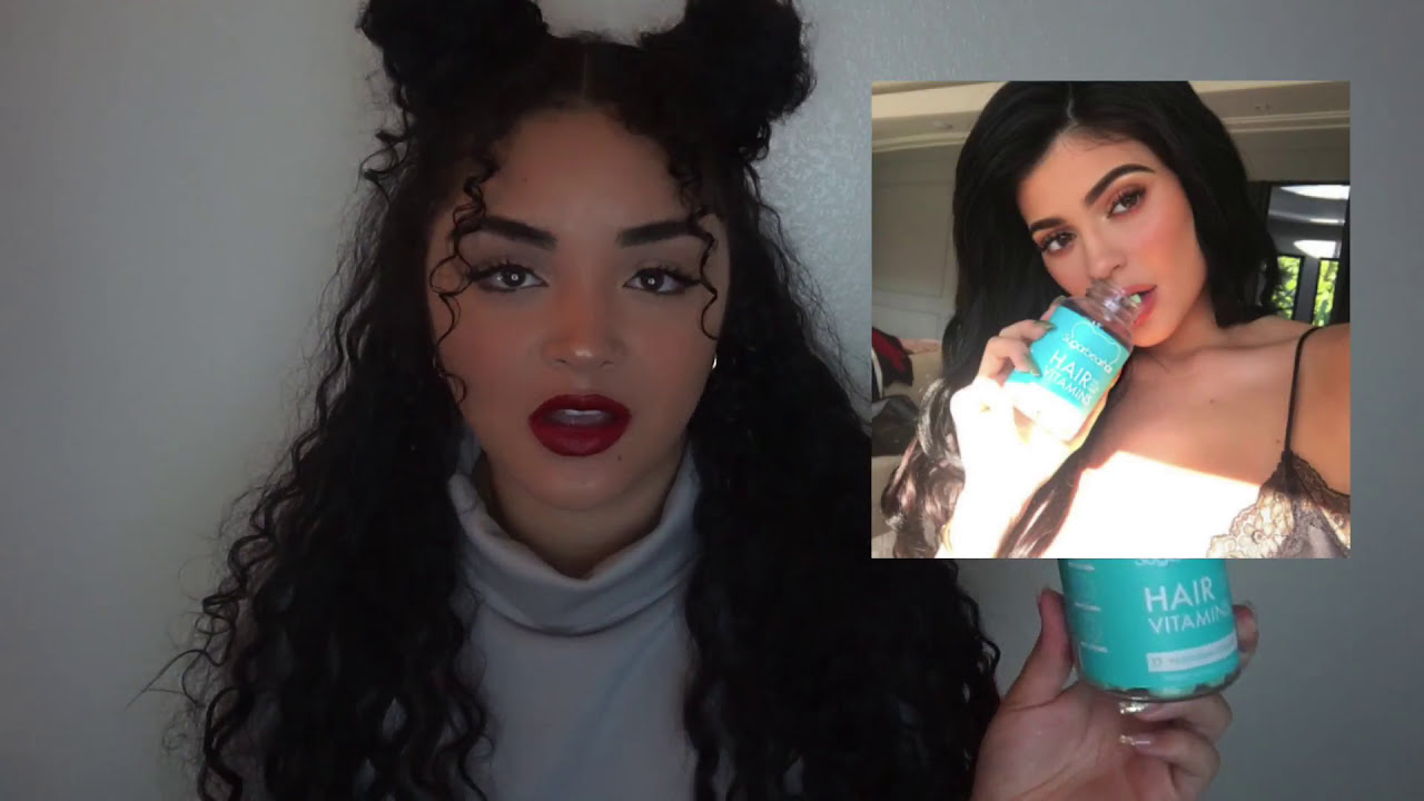 I tried Sugar Bear Hair Vitamins for 3 months...worth it? (before and after)   SugarBearHair review