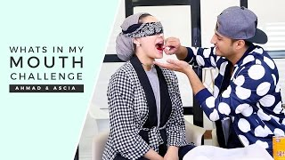Husband vs Wife: What's In My Mouth Challenge!