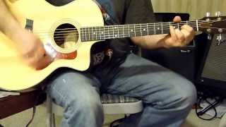 Eric Clapton - Next Time You See Her - guitar cover