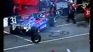 Смотреть онлайн Неудачные пит-стопы: аварии и трагедии на гонках