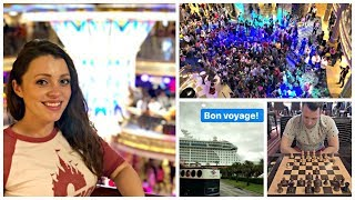 Babymoon Vlog Five! Our First Day Aboard the Disney Dream!