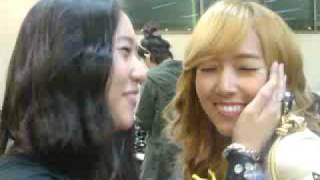 2009 Dream Concert Back stage _ f(x)   SHINee   GIRLS` GENERATION