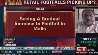 Amitabh Taneja, Chairman, Shopping Centres Association of India speaks on the opening of Malls in Maharashtra   SCAI   05 Aug 2020   ET NOW Mumbai Opening