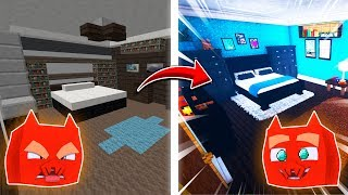 I Build A Minecraft Bedroom With CRAZY DETAIL! (Realistic House)