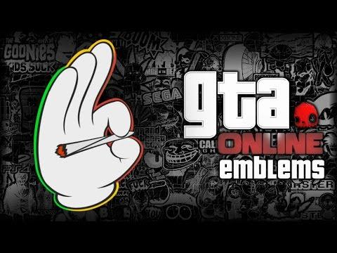 GTA V - Mickey Glove - Custom Crew Emblem Tutorial ( Grand Theft Auto