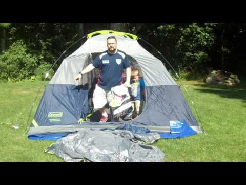 Coleman Sundome 6 Person Tent Review