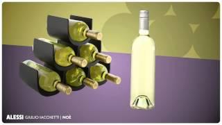 Alessi Noè wijnrek GIA13B door Giulio Iacchett