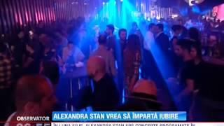 """Alexandra Stan a lansat clipul melodiei """"Cherry pop"""""""