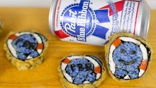 Tempura PBR Beer Batter Sushi