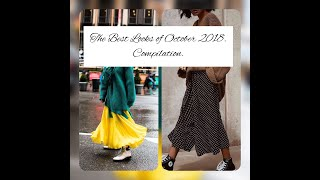 The Best Fashion Ideas Of October 2018. Compilation.|Anna Sakhno Channel.|Fall Fashion 2018.