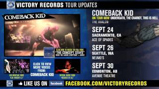 COMEBACK KID - On Tour Now (Sept-Oct 2011)