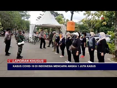 Kasus Positif Covid-19 di Indonesia Tembus 1 Juta - LAPORAN KHUSUS (Bag 1)