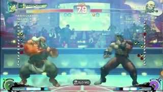 Bullcat (Gouken) Vs HARITSUKA AN (Bison) - AE 2012 Match *1080p HD*