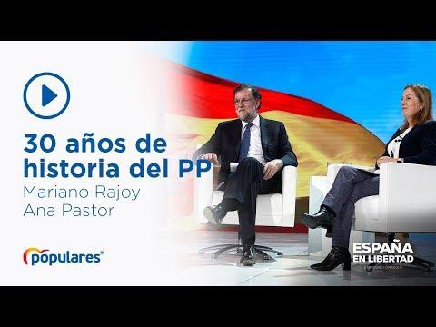 30 años de la refundación del Partido Popular, con Mariano Rajoy y Ana Pastor