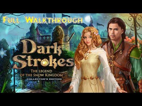 Let's Play - Dark Strokes 2 - The Legend of the Snow Kingdom -  Full Walkthrough