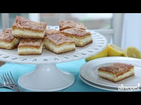 How to Make Lemon Cream Cheese Bars | Dessert Recipes | Allrecipes.com