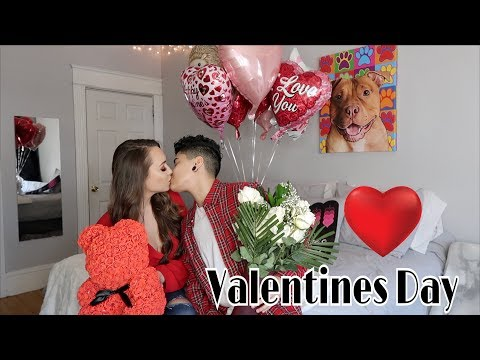 SURPRISING MY GIRLFRIEND FOR VALENTINE'S DAY!!!