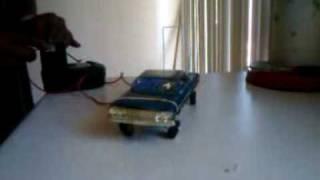 Blue 63 model car hopping this d4l model car club