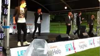 The Wanted Live on Nickelodeon The Big Help