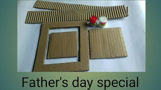 2 Amazing Fathers Day Gift Ideas || Best Out Of Waste Cardboard Crafts || Craft Gallery