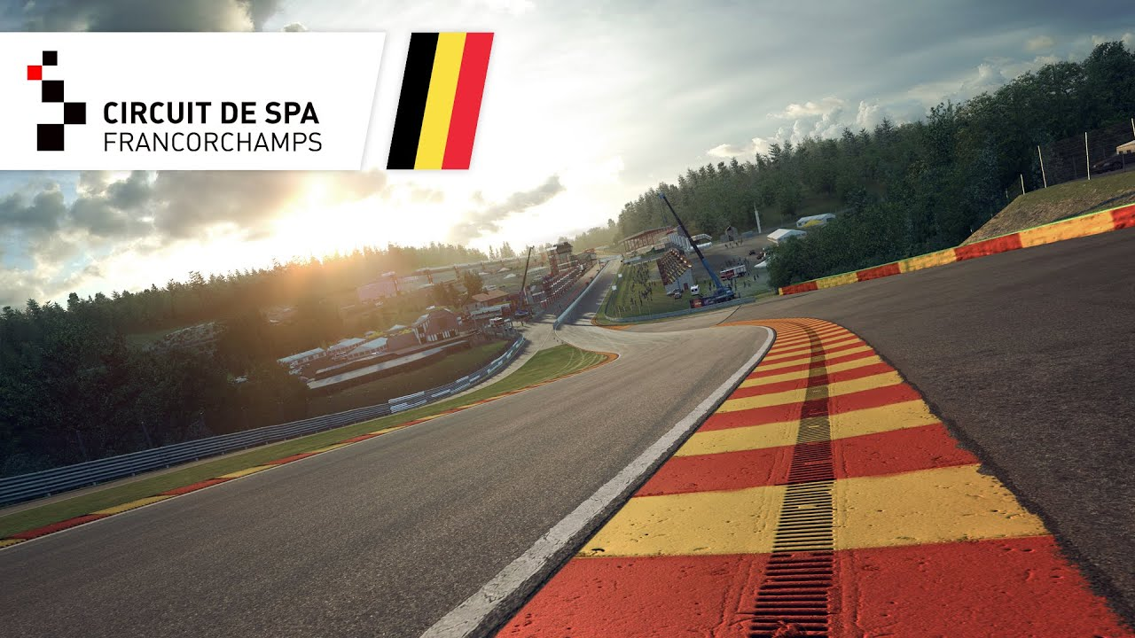 spa francorchamps store raceroom racing experience. Black Bedroom Furniture Sets. Home Design Ideas