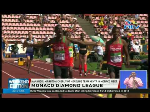 Manangoi, Kipruto and Cheruyiot headline team Kenya in Monaco