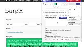 Interceptor Browser Extension: Listen to incoming requests