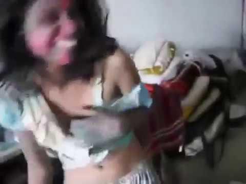 sexy hostel girls playing holi